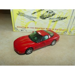 CHEVROLET CORVETTE C5 1997 Rouge MATCHBOX CCV04-M 1:43