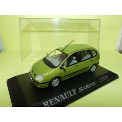 RENAULT SCENIC I Phase 2 2000 Vert UNIVERSAL HOBBIES Collection M6 1:43