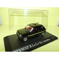RENAULT 5 LE CAR VAN HEULIEZ 1979 UNIVERSAL HOBBIES Collection M6 1:43