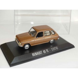 RENAULT 6 TL 1976 Marron NOREV Collection M6 1:43