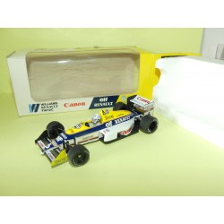 WILLIAMS RENAULT FW12C GP 1989 R. PATRESE ONYX 026 1:43
