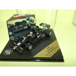 LOTUS 78 GP D'AFRIQUE DU SUD 1976 R. PETERSON QUARTZO 4090 1:43