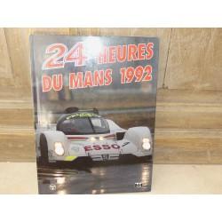 LIVRE OFFICIEL DES 24 HEURES DU MANS 1992 ACLA - ACO