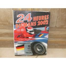 LIVRE OFFICIEL DES 24 HEURES DU MANS 2002 ACLA - ACO