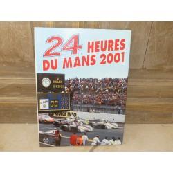 LIVRE OFFICIEL DES 24 HEURES DU MANS 2001 ACLA - ACO