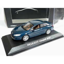 PEUGEOT 407 COUPE Vert  NOREV 1:43
