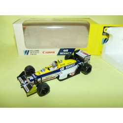 WILLIAMS RENAULT FW12C GP 1989 T. BOUTSEN ONYX 025 1:43
