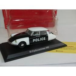 CITROEN ID 19 police parisienne1959 UNIVERSAL HOBBIES  1:43 blister