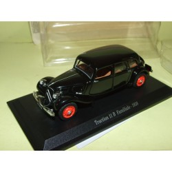 CITROEN TRACTION 11 B FAMILIALE  1938 Noir UNIVERSAL HOBBIES 1:43 blister