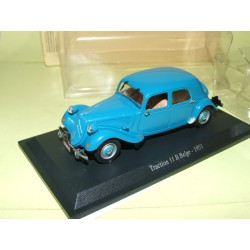 CITROEN TRACTION 11 B BELGE 1951 Bleu UNIVERSAL HOBBIES 1:43 blister