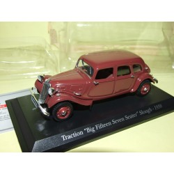 CITROEN TRACTION SLOUGH 1938 Bordeaux UNIVERSAL HOBBIES 1:43 blister