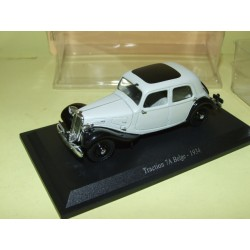 CITROEN TRACTION 7 A BELGE 1934 Gris UNIVERSAL HOBBIES 1:43 blister