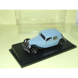 CITROEN TRACTION 22 BERLINE 1934 Bleu Gris UNIVERSAL HOBBIES 1:43 blister