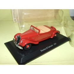 CITROEN TRACTION 22 CABRIOLET 1934 Bordeaux UNIVERSAL HOBBIES 1:43 blister