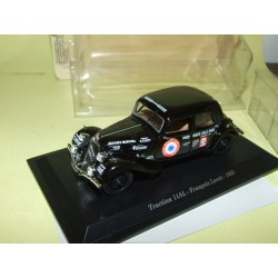 CITROEN TRACTION 11 AL Francois Lecot 1935 UNIVERSAL HOBBIES 1:43 blister