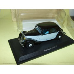 CITROEN TRACTION 11 A 1935 Noir et Bleu UNIVERSAL HOBBIES 1:43 blister