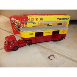 SAVIEM JL20 Semi Transport D'animeaux CIRQUE PINDER CORGI  70907 1:50