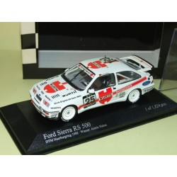 FORD SIERRA RS 500 DTM NURBURGRING 1988 HAHNE MINICHAMPS 1:43