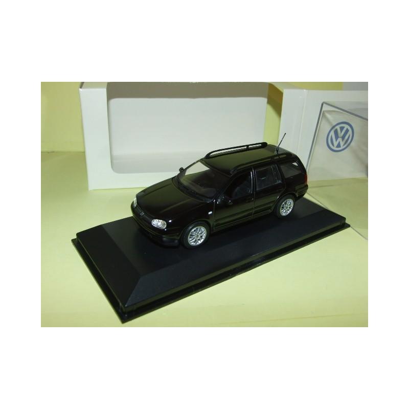 VW BORA Noir MINICHAMPS 1:43
