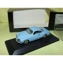 VW KARMANN GHIA 1200 Bleu MINICHAMPS 1:43