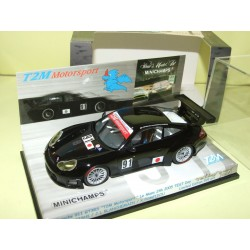 PORSCHE 911 GT3 RS N°91 LE MANS 2005 TEST DAY MINICHAMPS 1:43