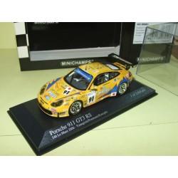 PORSCHE 911 GT3 RS N°91 LE MANS 2006 MINICHAMPS 1:43 Abd