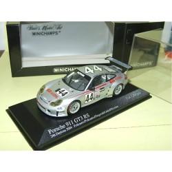 PORSCHE 911 GT3 RS  N°44 24H DAYTONA 2004 MINICHAMPS 1:43