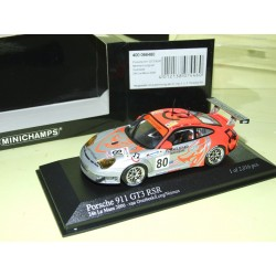 PORSCHE 911 GT3 RSR N°80 LE MANS 2006 MINICHAMPS 1:43