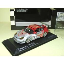 PORSCHE 911 GT3 RSR N°80 LE MANS 2005 MINICHAMPS 1:43 13ème