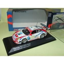 PORSCHE 911 GT3 RSR N°76 LE MANS 2009 MINICHAMPS 1:43
