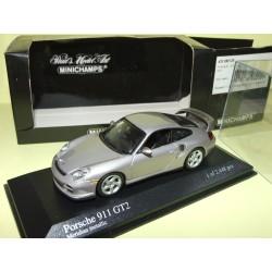 PORSCHE 911 GT2 996 2001 Gris Meridian MINICHAMPS 1:43