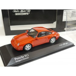 PORSCHE 911 CARRERA 993 1993 Orange MINICHAMPS 1:43