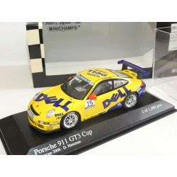 PORSCHE 911 GT3 CUP N°15 SUPERCUP 2006 MINICHAMPS 1:43