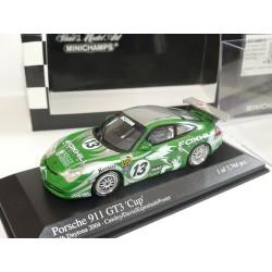 PORSCHE 911 GT3 CUP N°13 24H DE DAYTONA 2004 MINICHAMPS 1:43