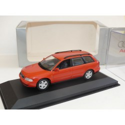 AUDI A4 AVANT B5 Phase 1 Orange MINICHAMPS 1:43