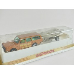VOLVO 245 DL AVEC SON ZODIAC Touring Club De France MAJORETTE 1:60