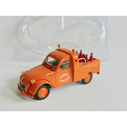 CITROEN 2CV N°059 PICK UP AERO CLUB SAINT YANN NOREV 1:43 sous coque