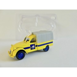 CITROEN 2CV N°052 PICK UP BACHÉ MICHELIN 1954 NOREV 1:43 sous coque