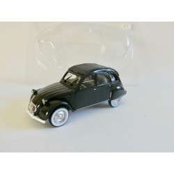 CITROEN 2CV N°083 GUARDIA CIVIL 1966 Noir NOREV 1:43 sous coque