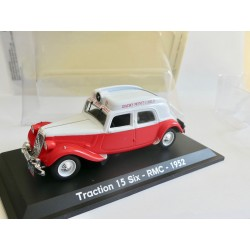 CITROEN TRACTION 15 SIX RMC 1952 UNIVERSAL HOBBIES 1:43 blister