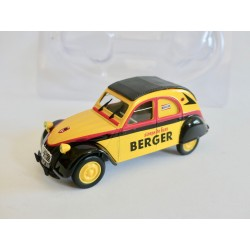 CITROEN 2CV N°056 BERGER TOUR DE FRANCE NOREV 1:43 sous coque