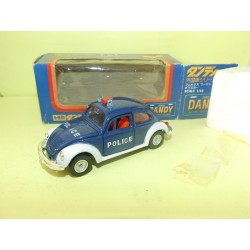 VW COCCINELLE POLICE Made in Japan TOMICA DANDY 1:43