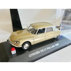 CITROEN DS 21 PALLAS 1968 Marron NOSTALGIE N017 1:43
