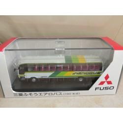 CAR BUS MITSUBISHI FUSO AEROBUS JB3001 CMNL 1:76