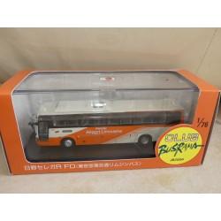 CAR BUS HINO SELEGA AIRPORT LIMOUSINE JB2004 CMNL 1:76