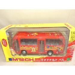CAR BUS McDONALD'S  Bus Japon MTECH 1:43