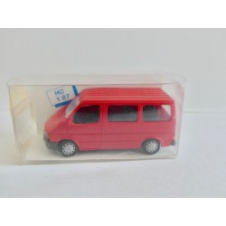FORD TRANSIT Rouge RIETZE 10520 HO 1:87