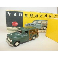 MORRIS MINOR TRAVELLER Vert VANGUARDS VA10002 1:43 défaut