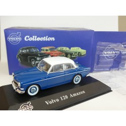 VOLVO 120 AMAZON Bleu ATLAS 1:43