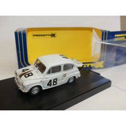 FIAT ABARTH 850 TC N°48 NURBURGRING 1962 PROGETTOK PK 129 1:43